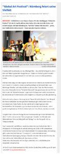 """(""""Global Art Festival"""": Nürnberg feiert seine Vielfalt - Kultur"""